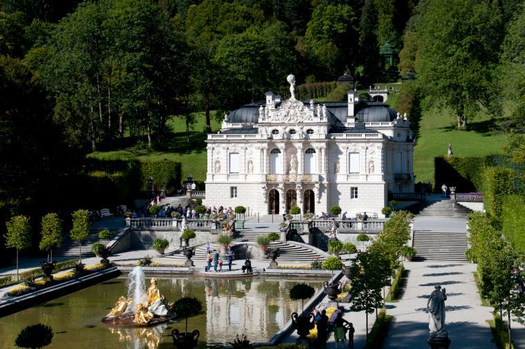 Schloss Linderhof Bernau Am Chiemsee